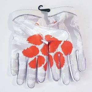NEW Nike Superbad 4 Clemson Tigers Football Gloves